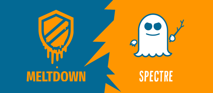 New bad guys in the town– Spectre and Meltdown.